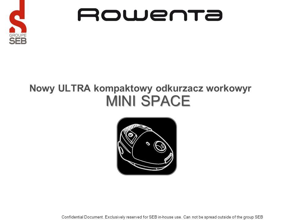 Nowy ULTRA kompaktowy odkurzacz workowyr