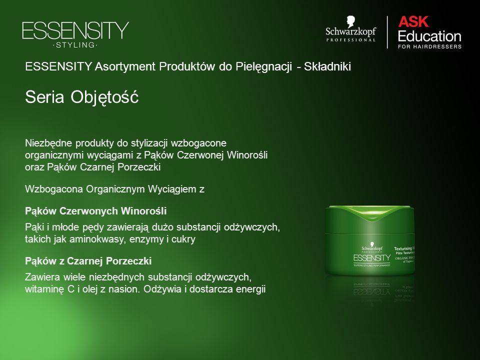 ESSENSITY Asortyment Produktów do Pielęgnacji - Składniki