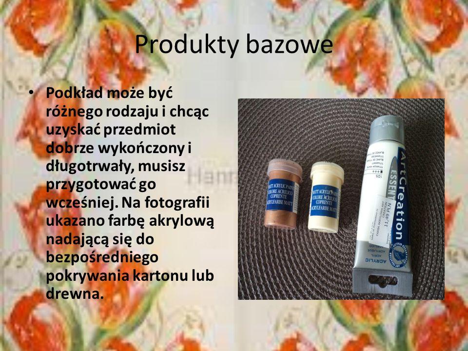 Produkty bazowe