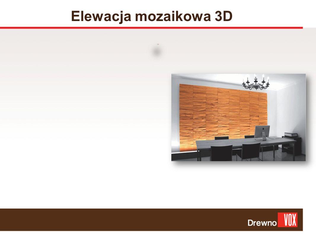 Elewacja mozaikowa 3D