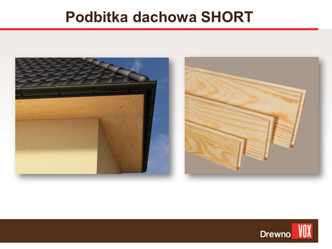Podbitka dachowa SHORT