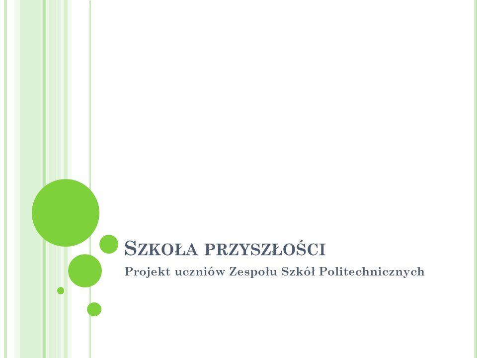 Projekt uczniów Zespołu Szkół Politechnicznych