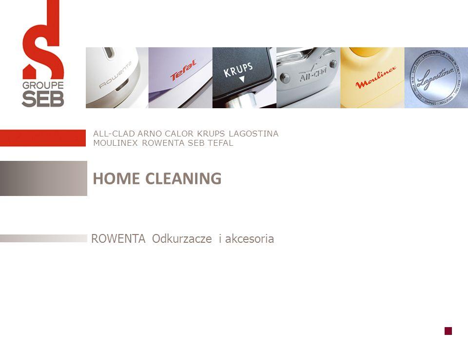 HOME CLEANING ROWENTA Odkurzacze i akcesoria