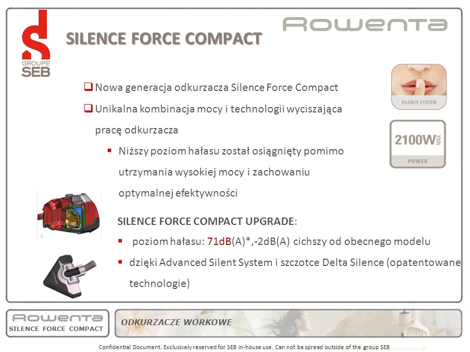 SILENCE FORCE COMPACT strategy