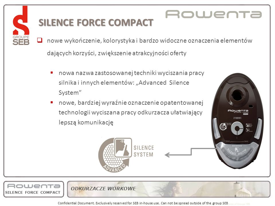 SILENCE FORCE COMPACT product