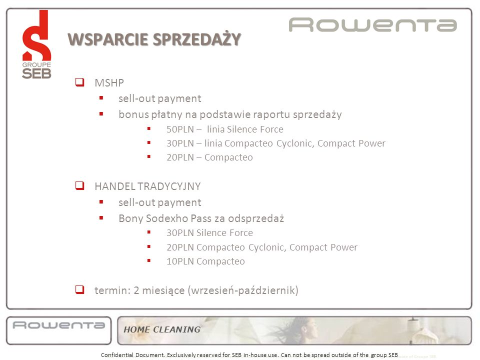 WSPARCIE SPRZEDAŻY product MSHP sell-out payment