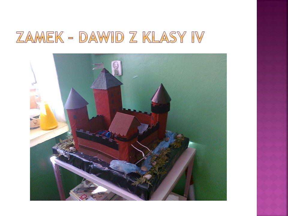 Zamek – Dawid z klasy IV