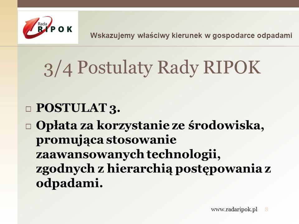 3/4 Postulaty Rady RIPOK POSTULAT 3.