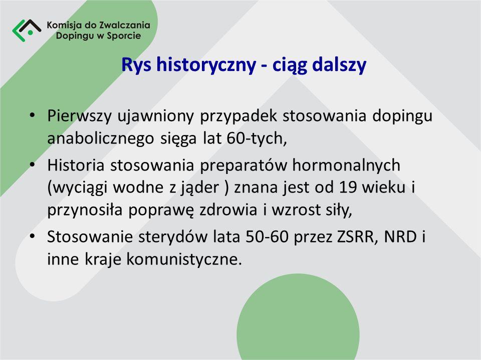 Rys historyczny - ciąg dalszy