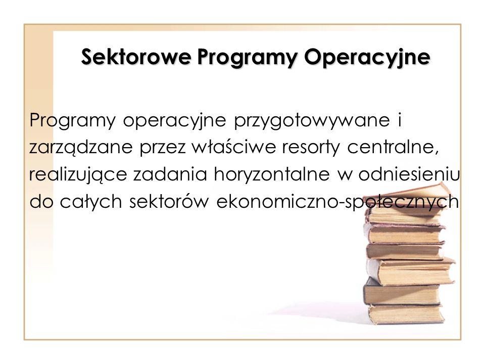 Sektorowe Programy Operacyjne