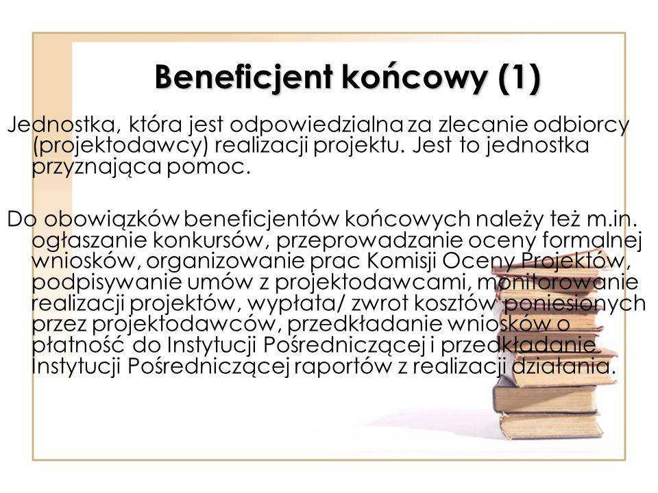 Beneficjent końcowy (1)