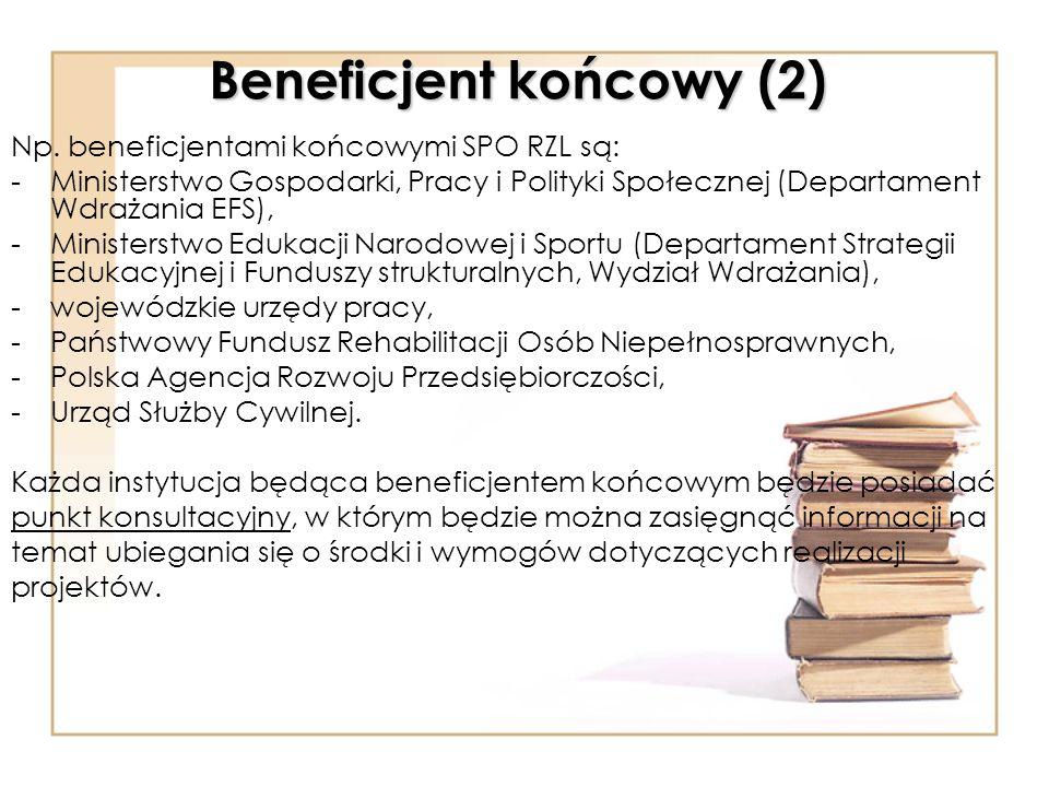 Beneficjent końcowy (2)