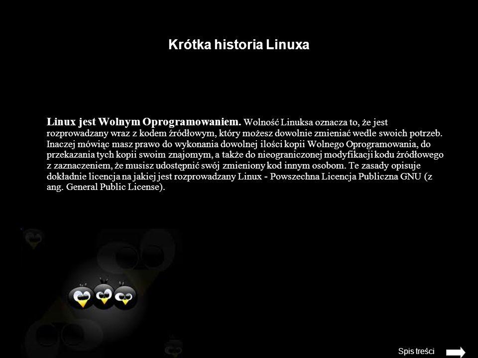 Krótka historia Linuxa
