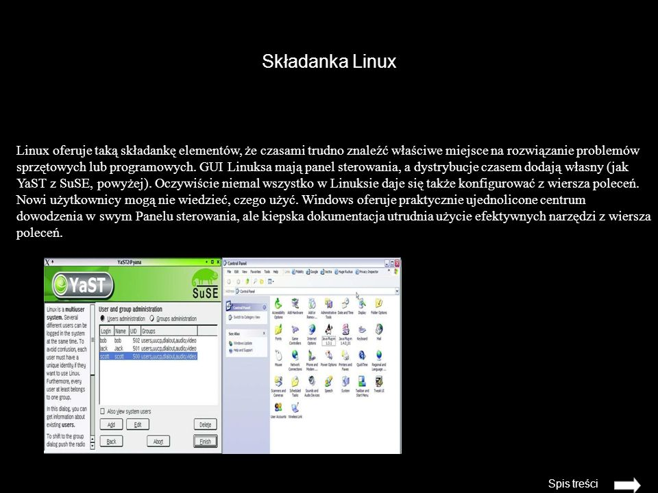 Składanka Linux
