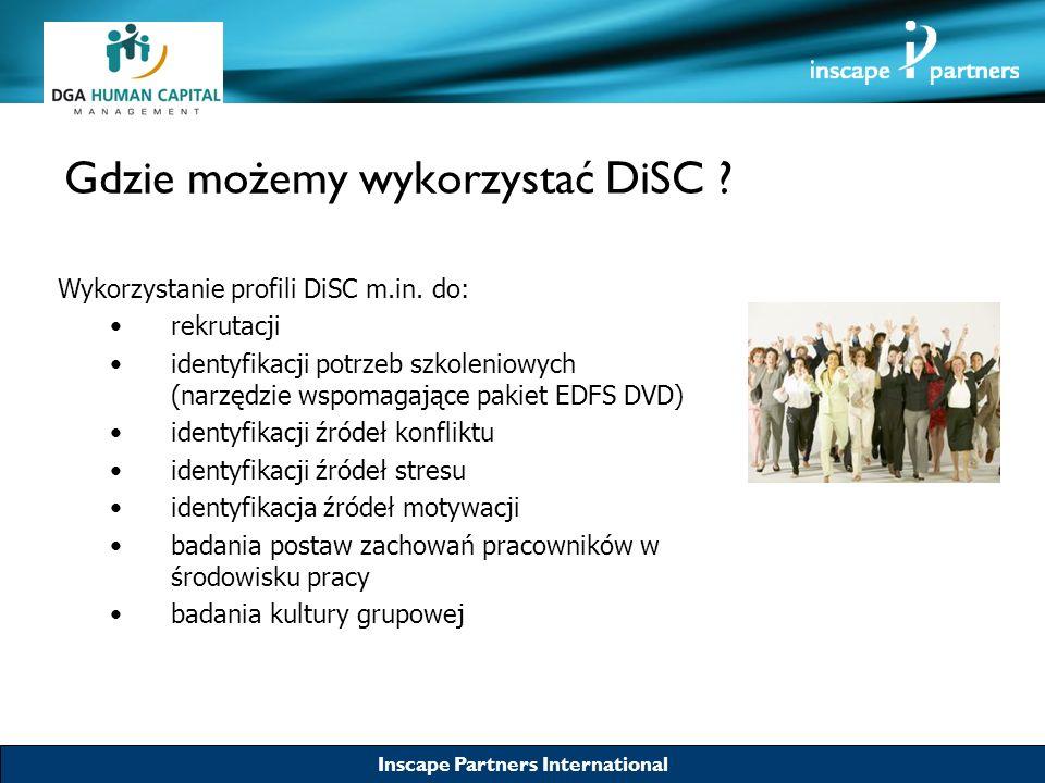Gdzie możemy wykorzystać DiSC
