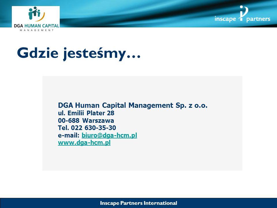Gdzie jesteśmy… DGA Human Capital Management Sp. z o.o.