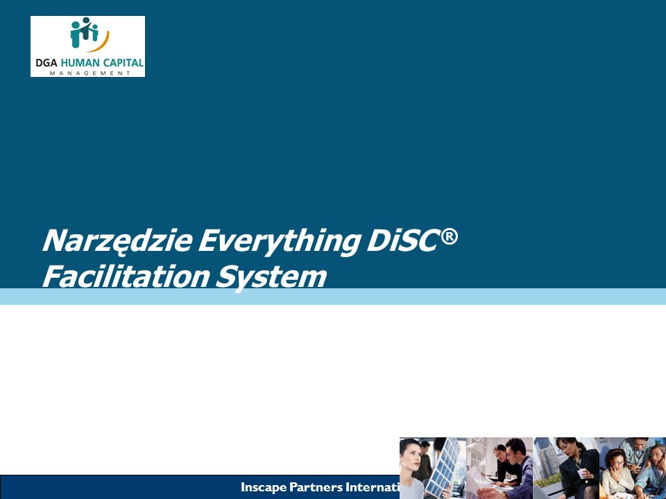 Narzędzie Everything DiSC ® Facilitation System