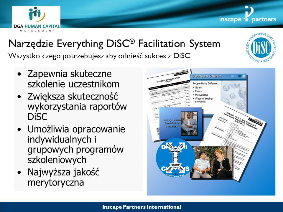 Narzędzie Everything DiSC® Facilitation System Wszystko czego potrzebujesz aby odnieść sukces z DiSC