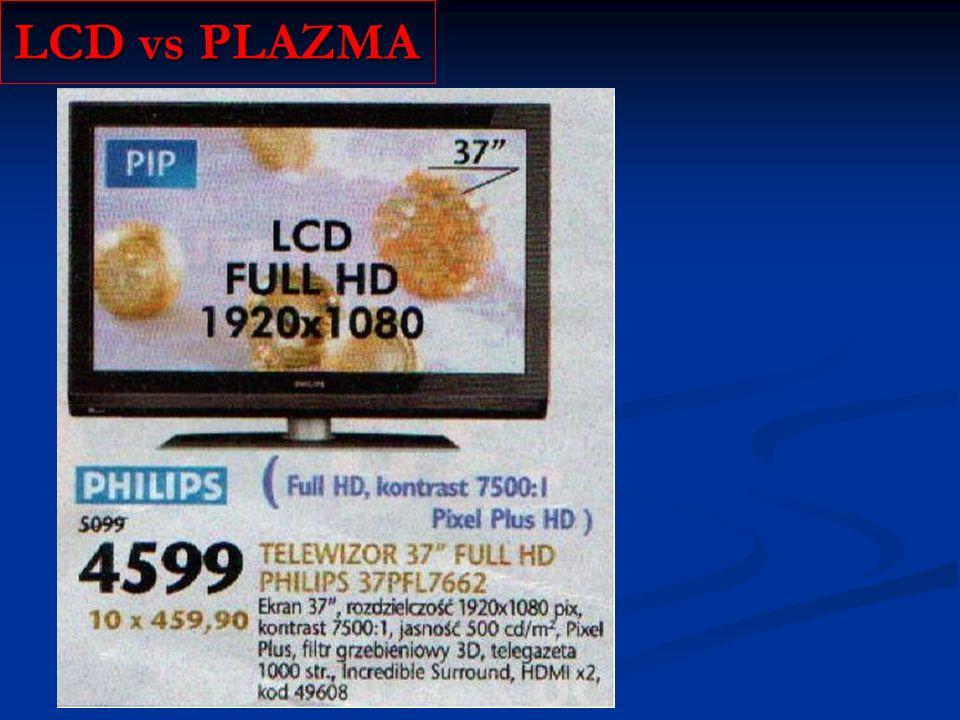 LCD vs PLAZMA
