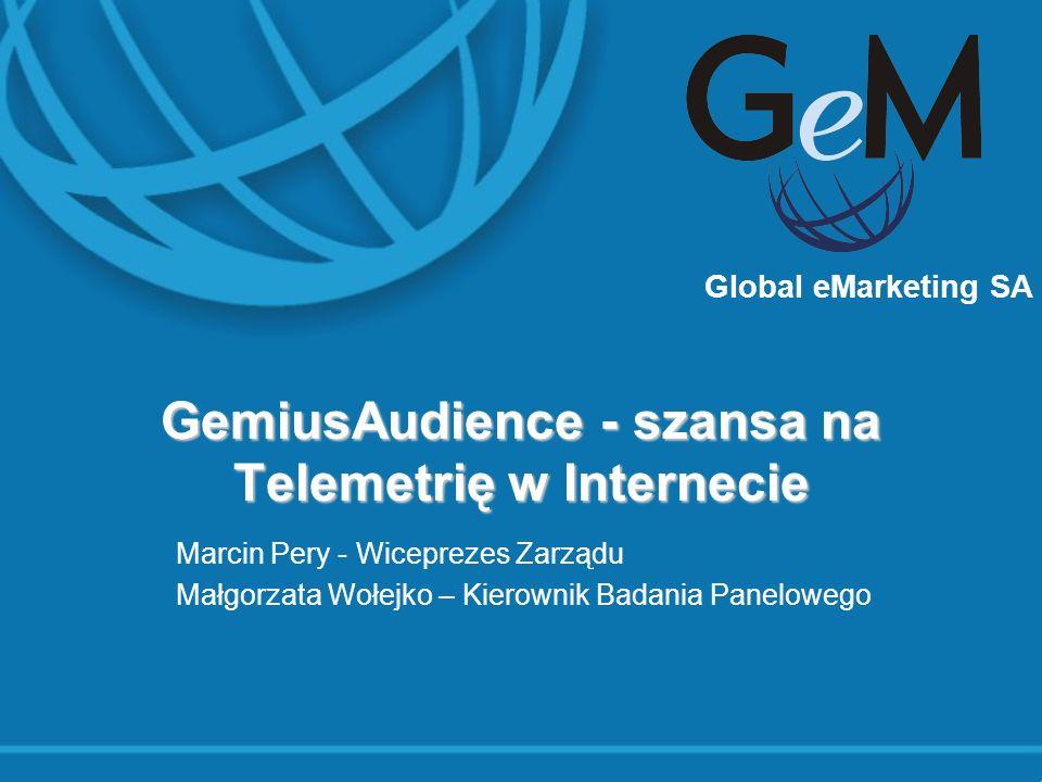 GemiusAudience - szansa na Telemetrię w Internecie
