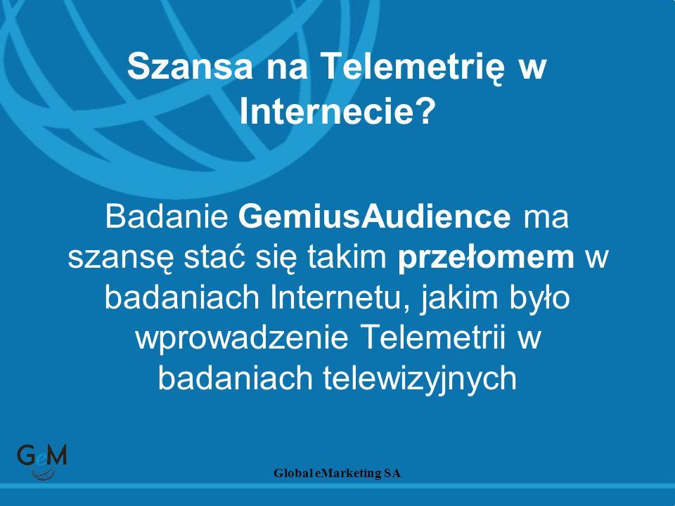 Szansa na Telemetrię w Internecie