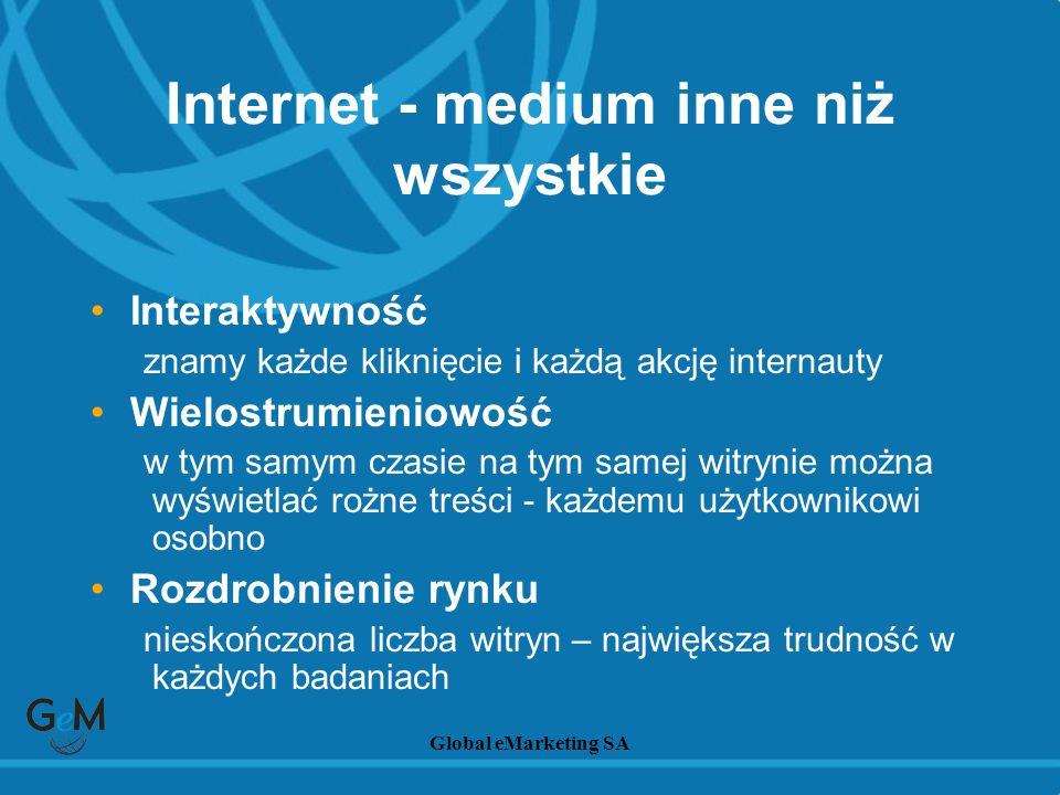 Internet - medium inne niż wszystkie