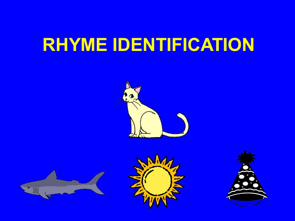 RHYME IDENTIFICATION