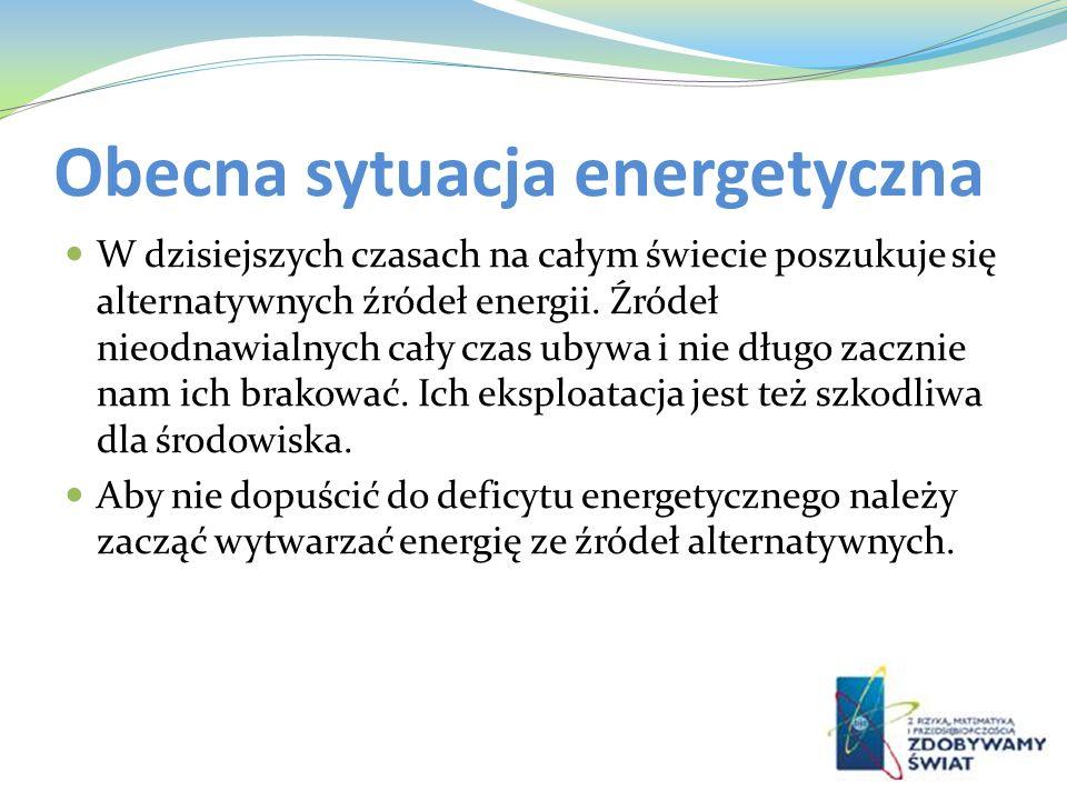 Obecna sytuacja energetyczna