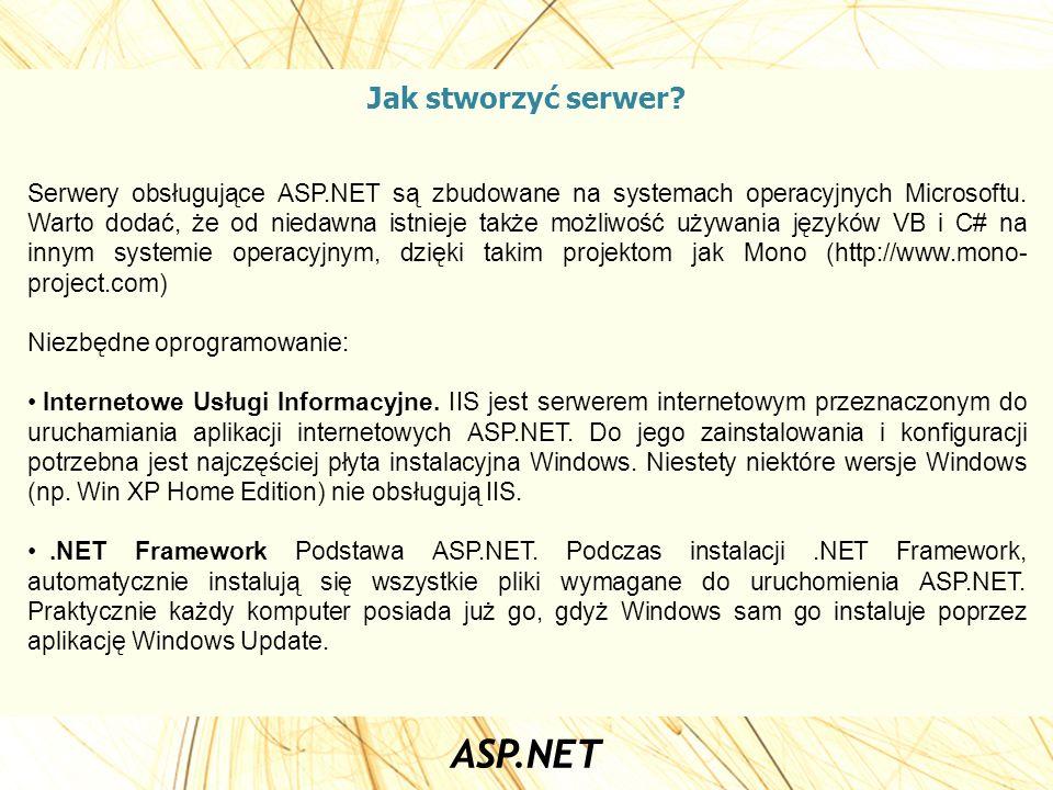Jak stworzyć serwer