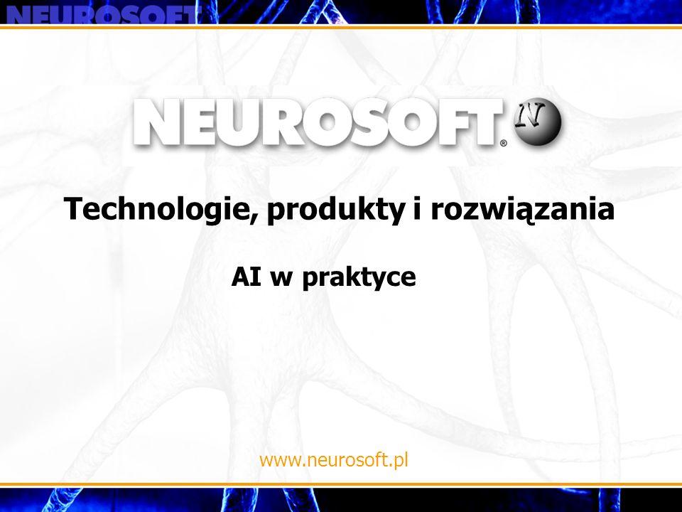 Technologie, produkty i rozwiązania