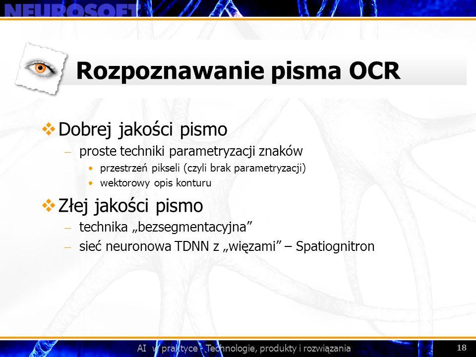 Rozpoznawanie pisma OCR