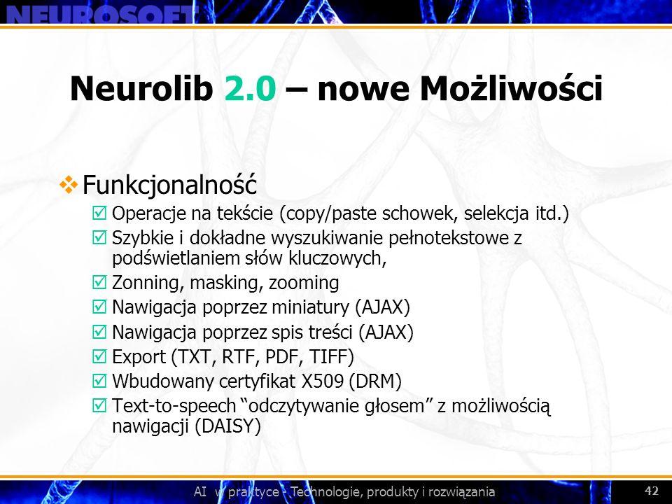 Neurolib 2.0 – nowe Możliwości