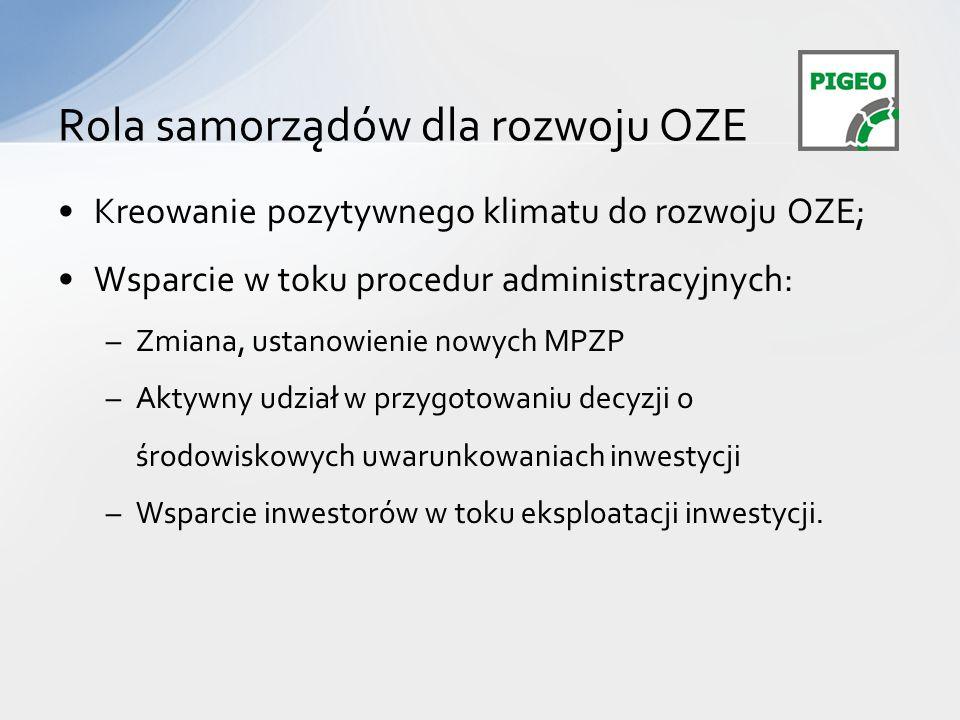 Rola samorządów dla rozwoju OZE