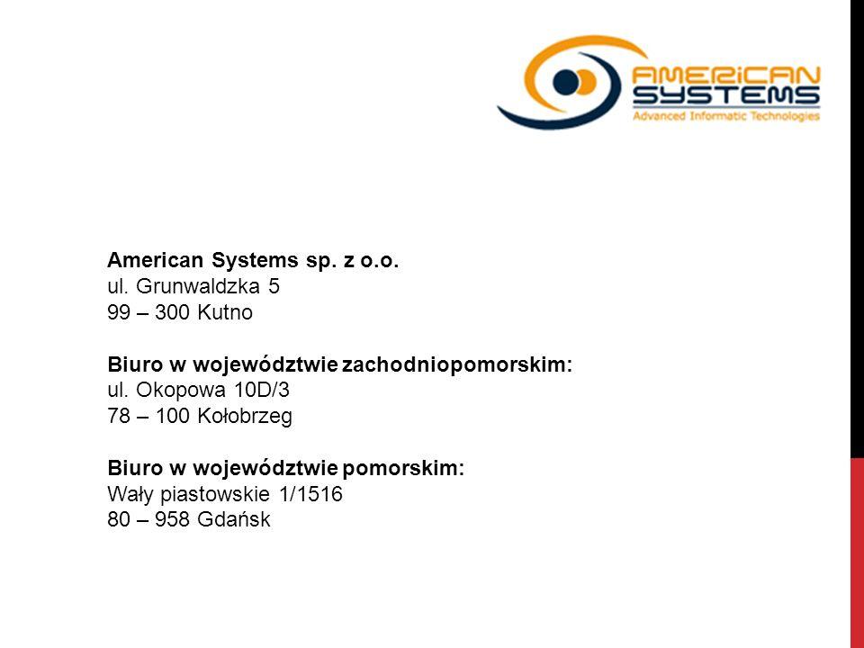 American Systems sp. z o.o.