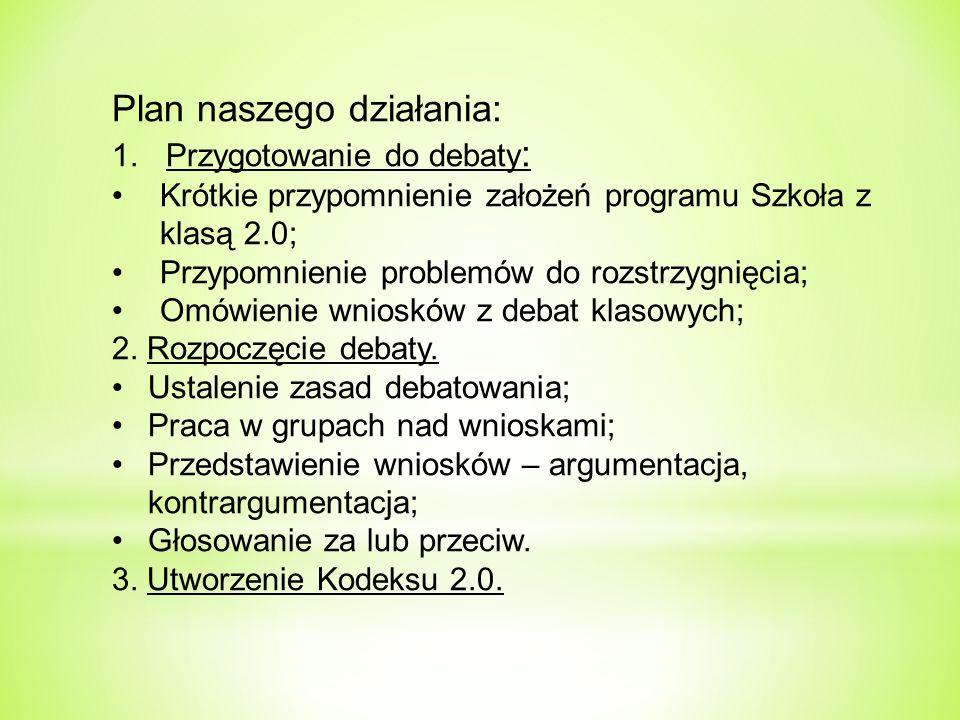 Plan naszego działania: