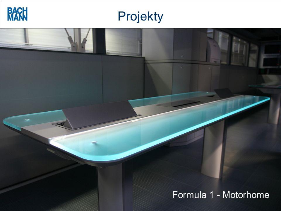 Projekty Formula 1 - Motorhome