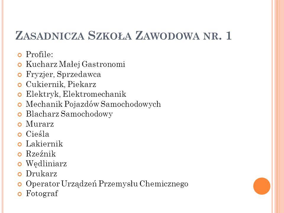 Zasadnicza Szkoła Zawodowa nr. 1