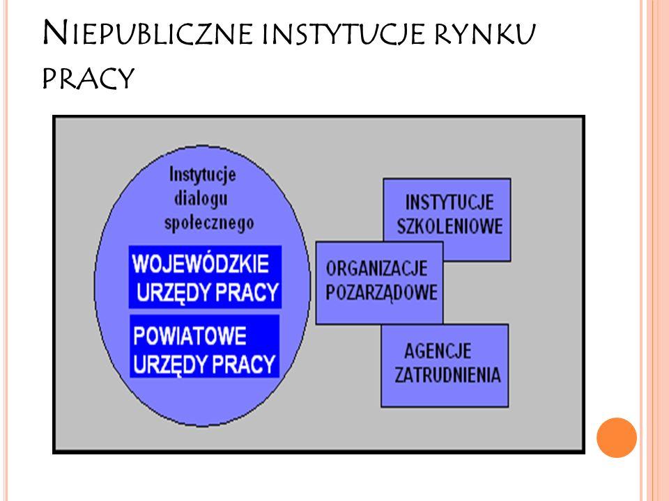 Niepubliczne instytucje rynku pracy