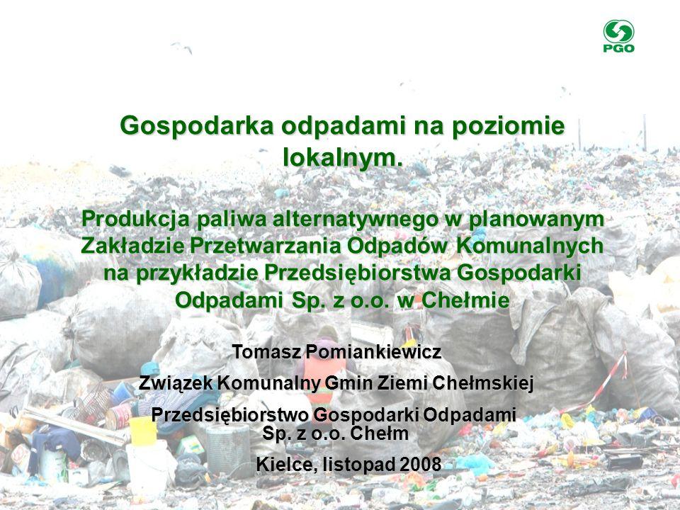 Gospodarka odpadami na poziomie lokalnym.