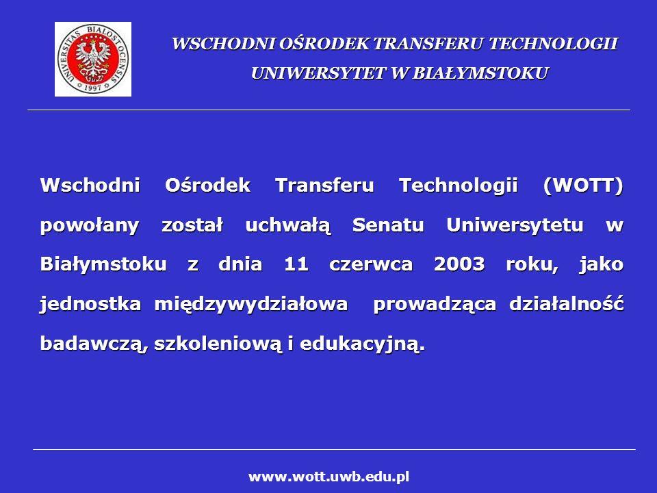 WSCHODNI OŚRODEK TRANSFERU TECHNOLOGII