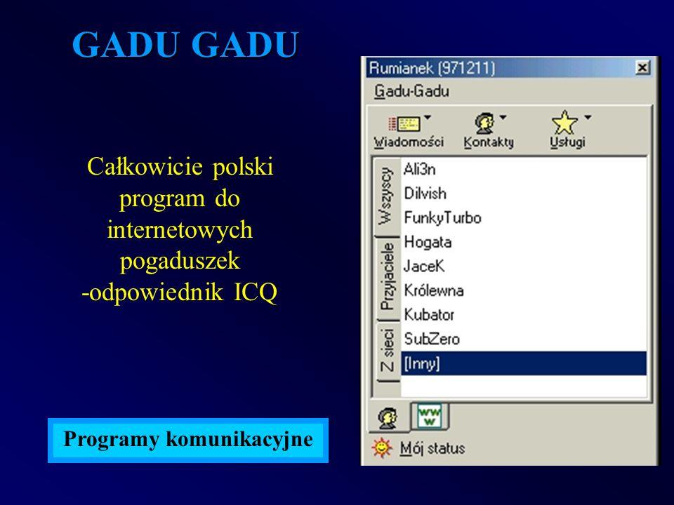 Programy komunikacyjne
