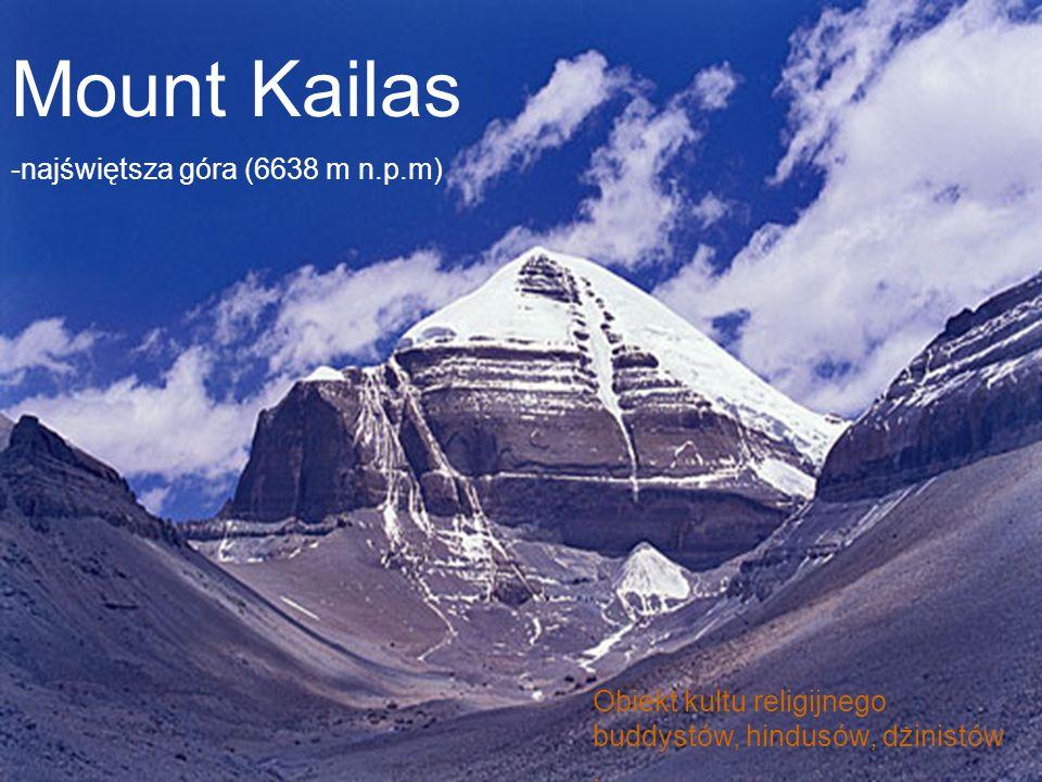 Mount Kailas -najświętsza góra (6638 m n.p.m)