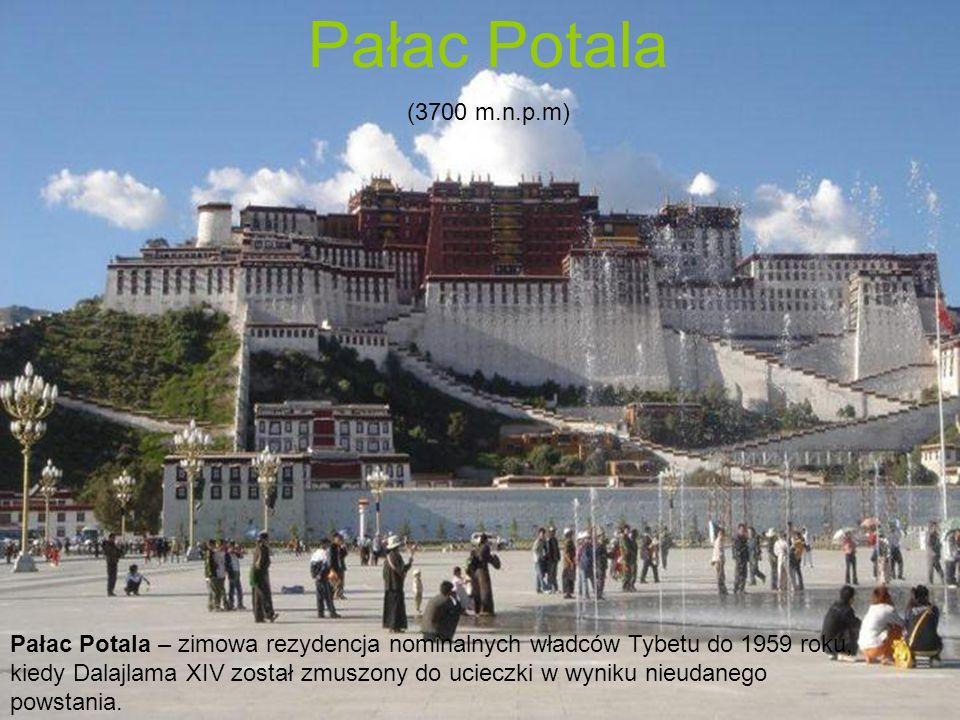 Pałac Potala (3700 m.n.p.m)