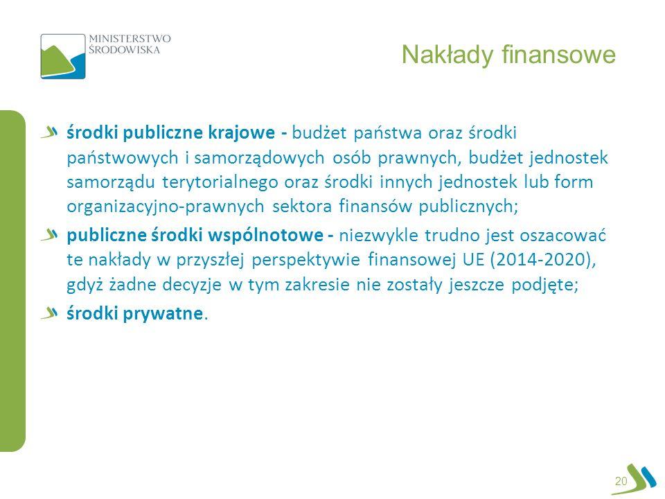 Nakłady finansowe