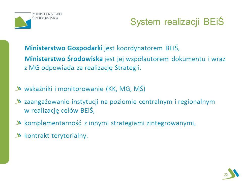 System realizacji BEiŚ