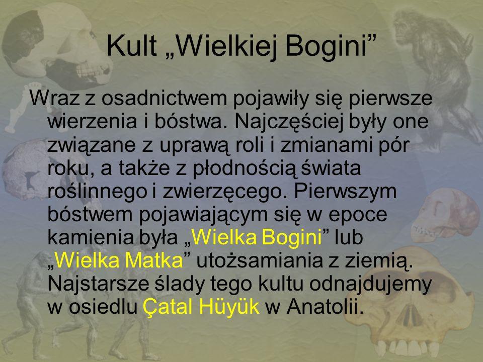 """Kult """"Wielkiej Bogini"""