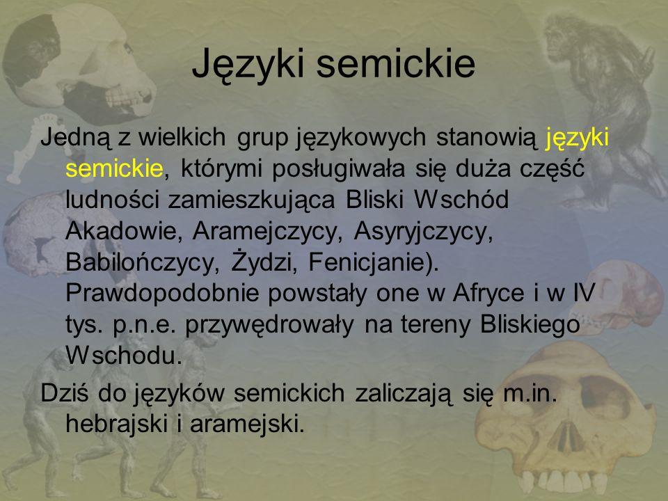 Języki semickie