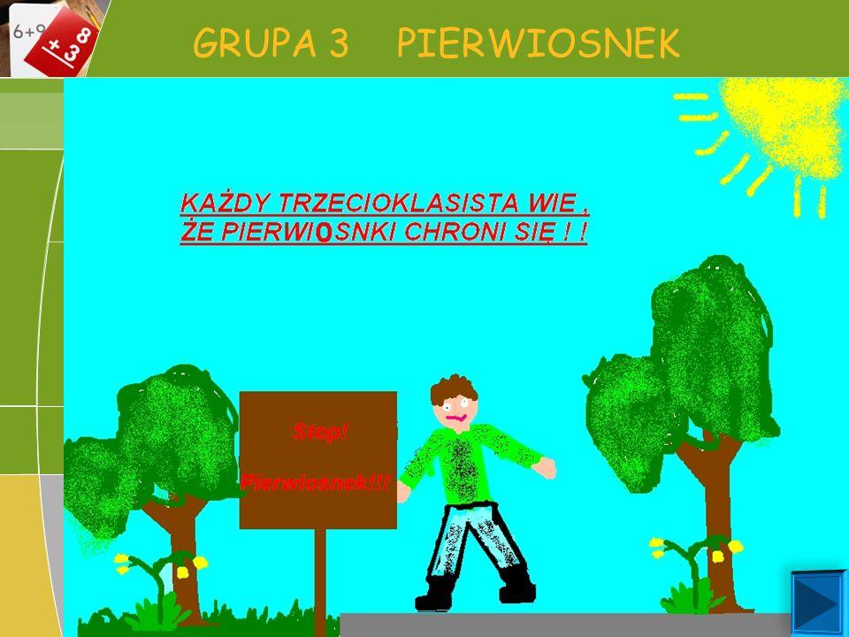 GRUPA 3 PIERWIOSNEK