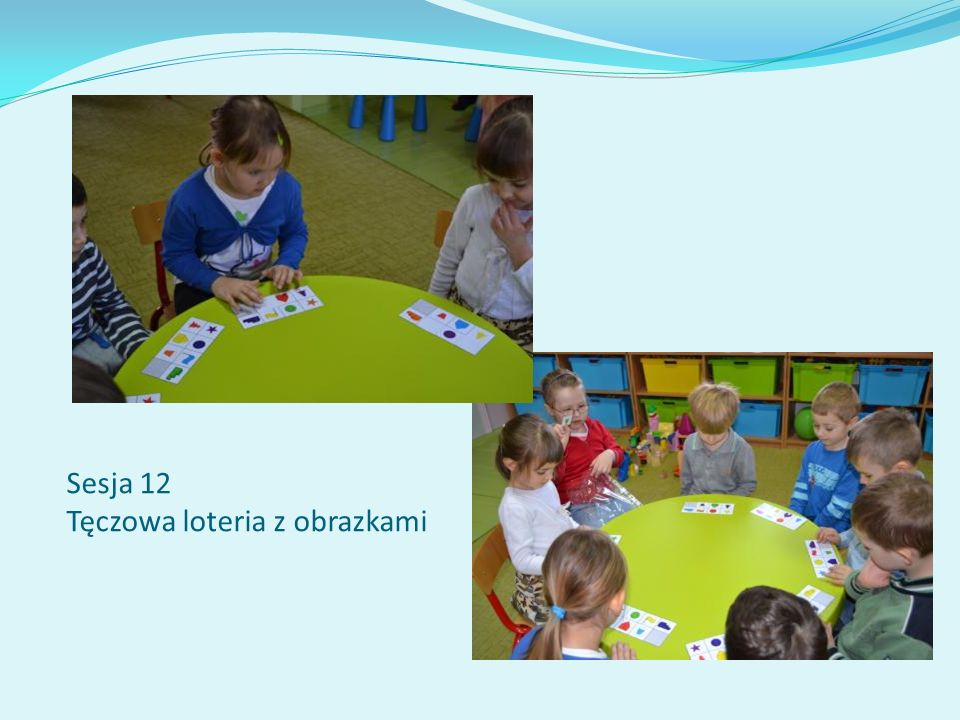 Sesja 12 Tęczowa loteria z obrazkami