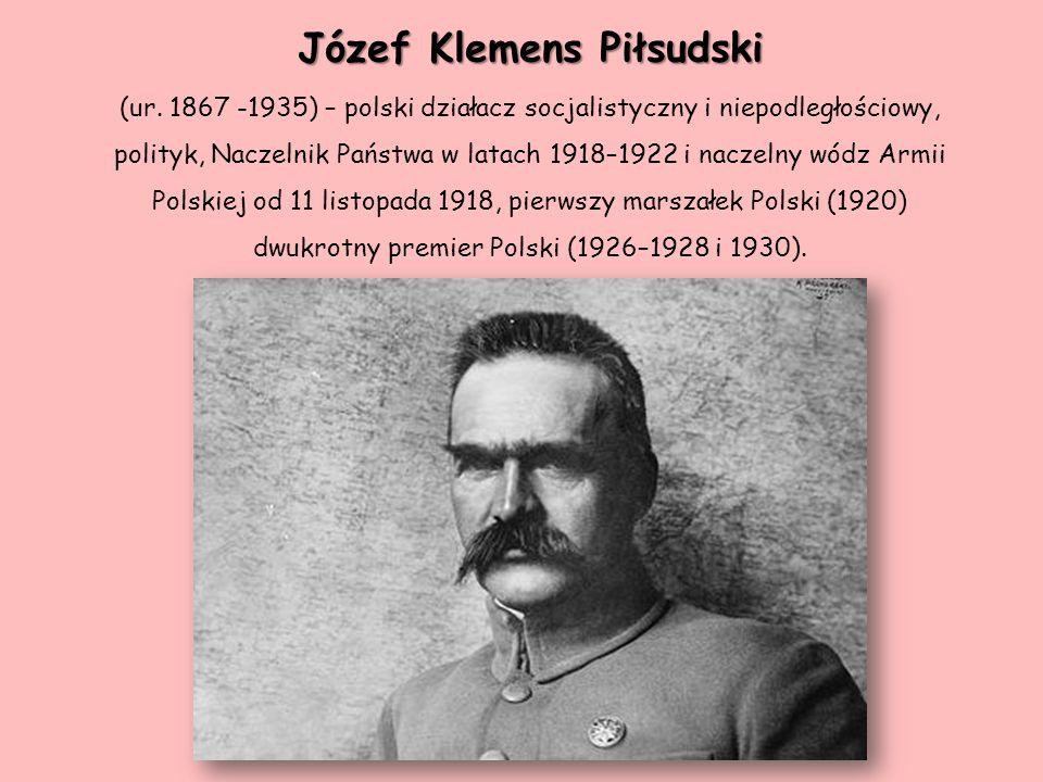 Józef Klemens Piłsudski (ur